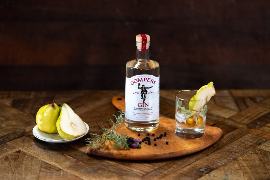 gompers gin brand photography bend oregon