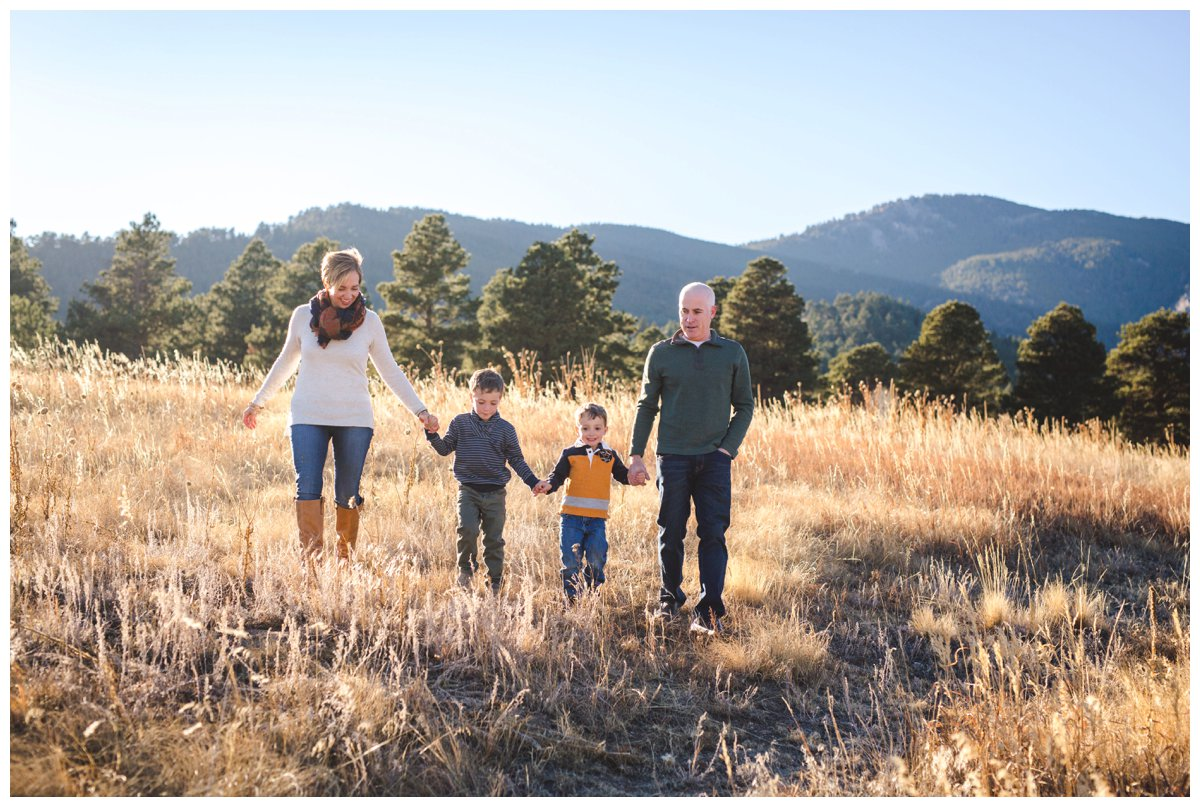 Candid family photography in Bend