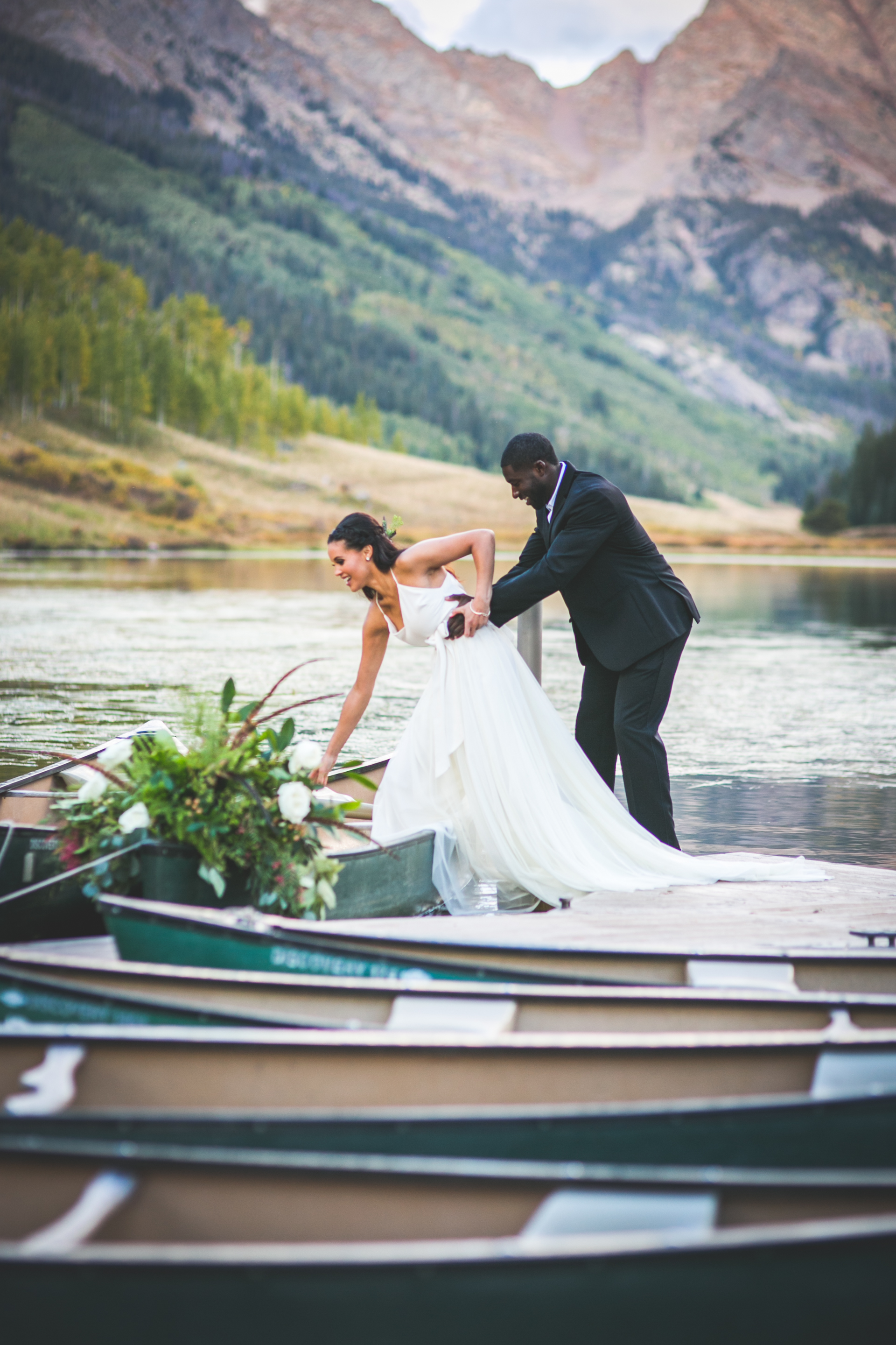 Elopement wedding photos in Bend