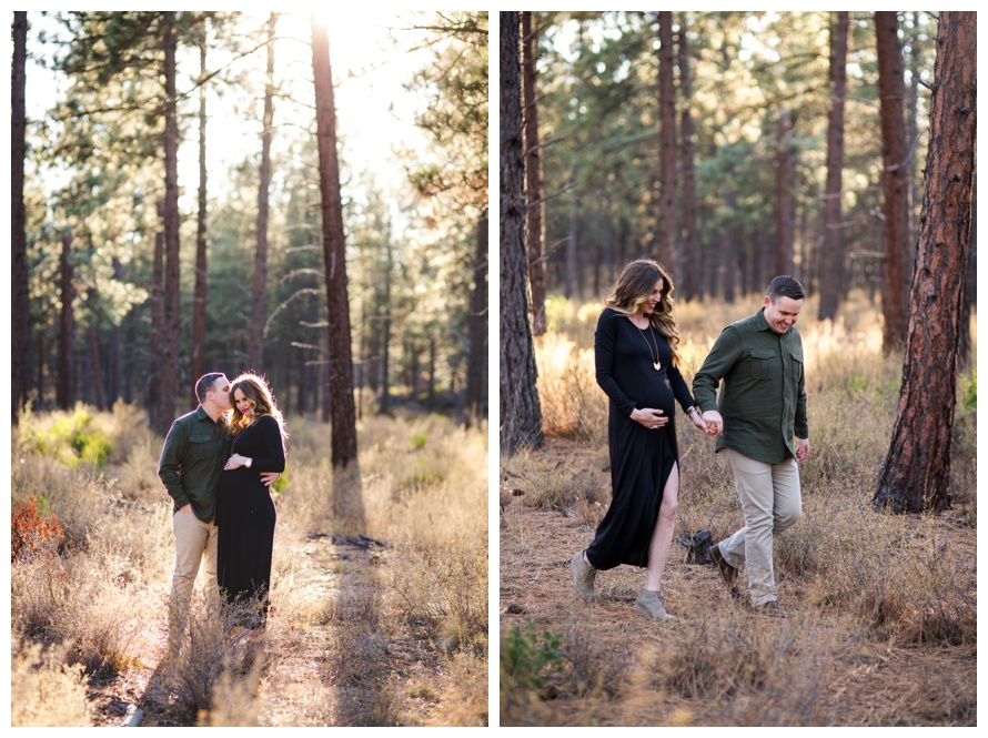 Maternity Photos Sunriver Oregon